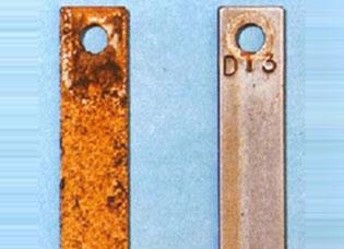 Valor de ensaio de corrosão