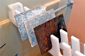 Empresa de ensaio de corrosão