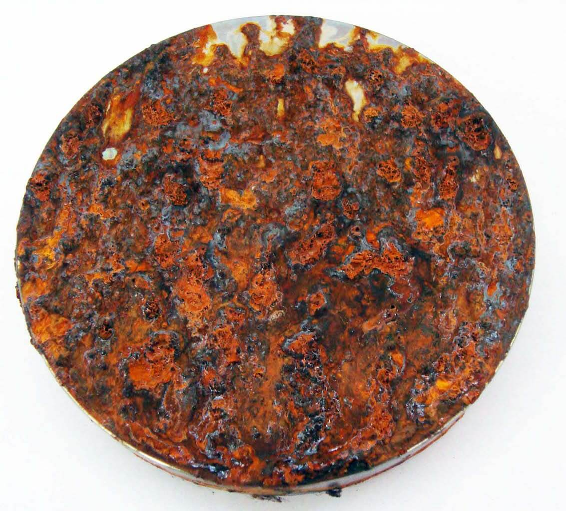 Ensaio de corrosão de ferro