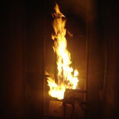 Teste de resistência ao fogo